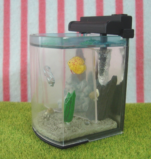 Japanese dollhouse miniatures all miniature toys pets for Toy fish tank